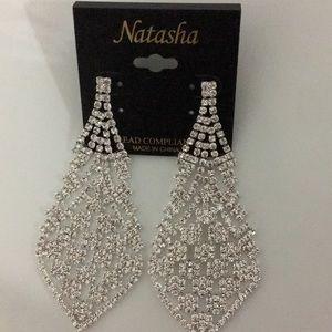 New Natasha Dressy Chandelier Drop Earrings